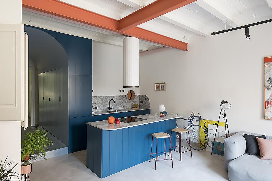 Apartment in Barcelona von Colombo and Serboli Architecture