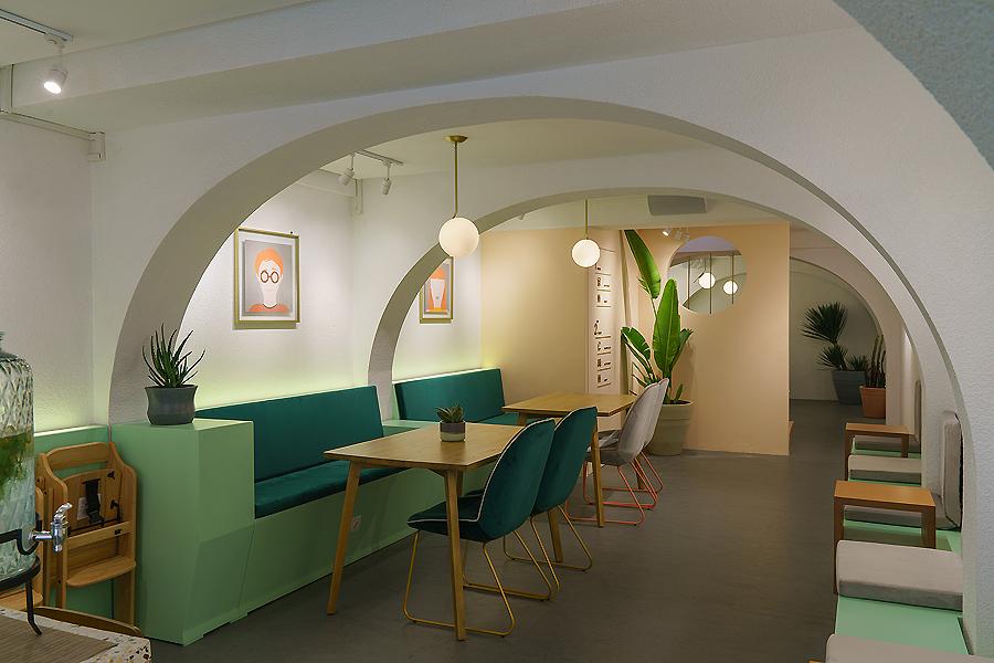 Café Cliq in Jakarta von Studio Kota Architecture