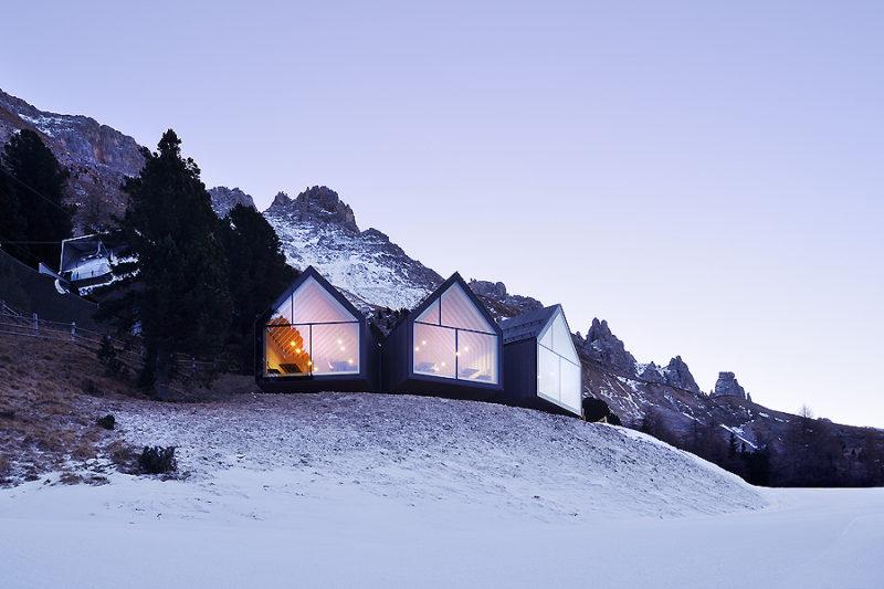 Oberholz Mountain Hut in Obereggen 01