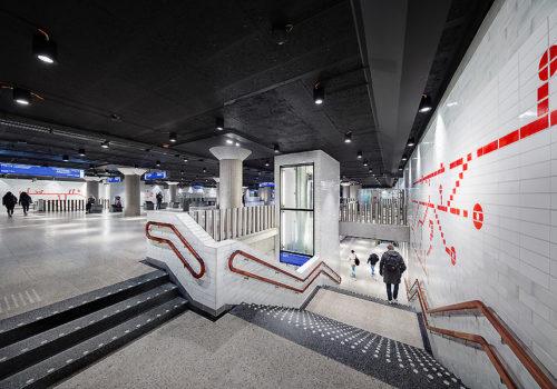 Metro in Amsterdam 03