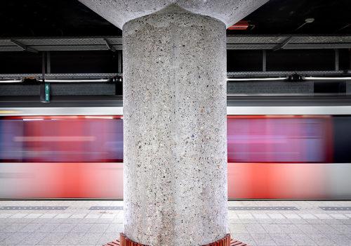 Metro in Amsterdam 04