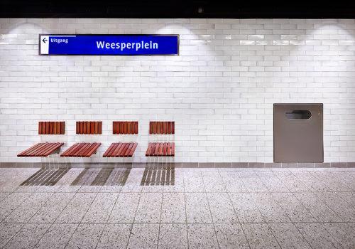 Metro in Amsterdam 05