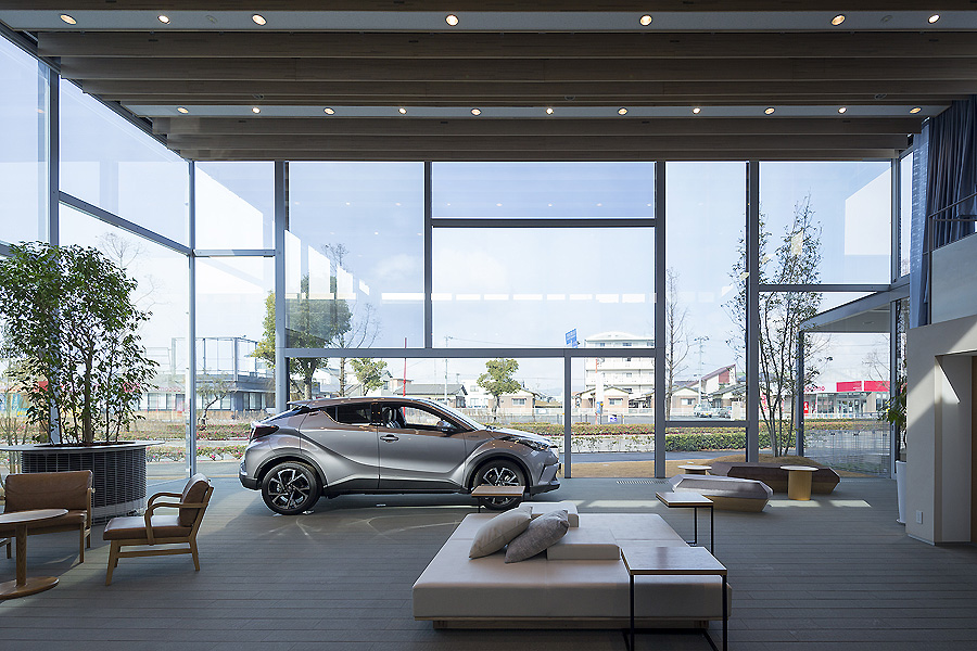 Toyota Showroom in Imabari 07