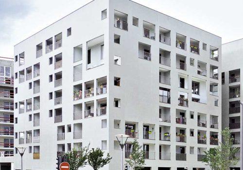 Mehrfamilienhäuser: Alice Lapierre et Hadrien Moret, ELEX