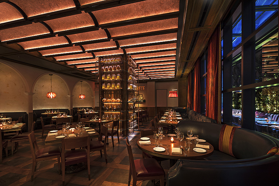 Hotel Moxy NYC Chelsea in New York von Rockwell Group