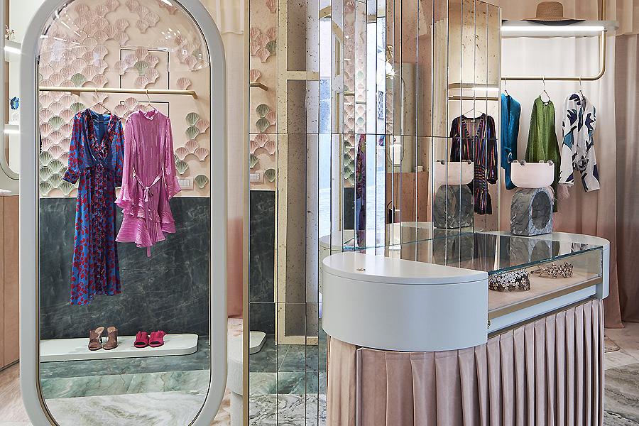 Boutique The Pink Closet in Ravello von Christina Celestino