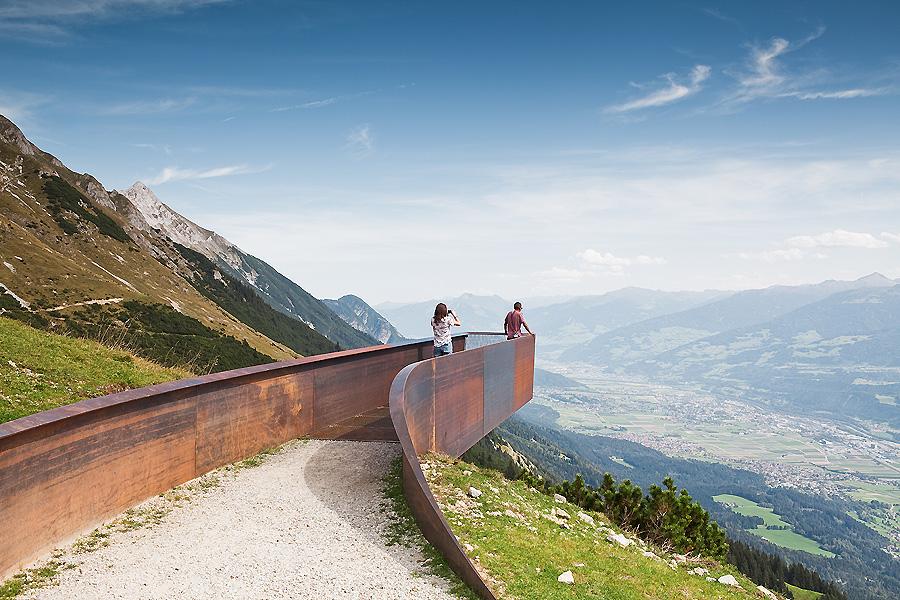 Touristenpfad in Innsbruck von Snøhetta