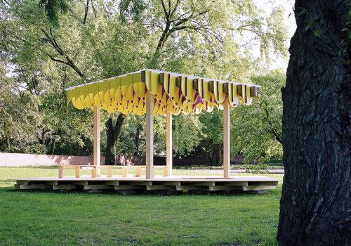 Temporärer Pavillon in Hamburg 01
