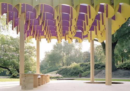 Temporärer Pavillon in Hamburg 05