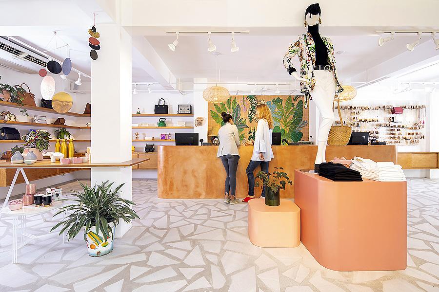 Hija de Tigres Flagship Store in San José von Taller Ken