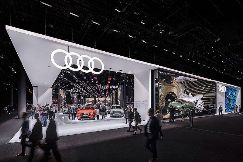Neubau Messestand auf der IAA 2019 in Frankfurt 01