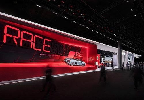Neubau Messestand auf der IAA 2019 in Frankfurt 04