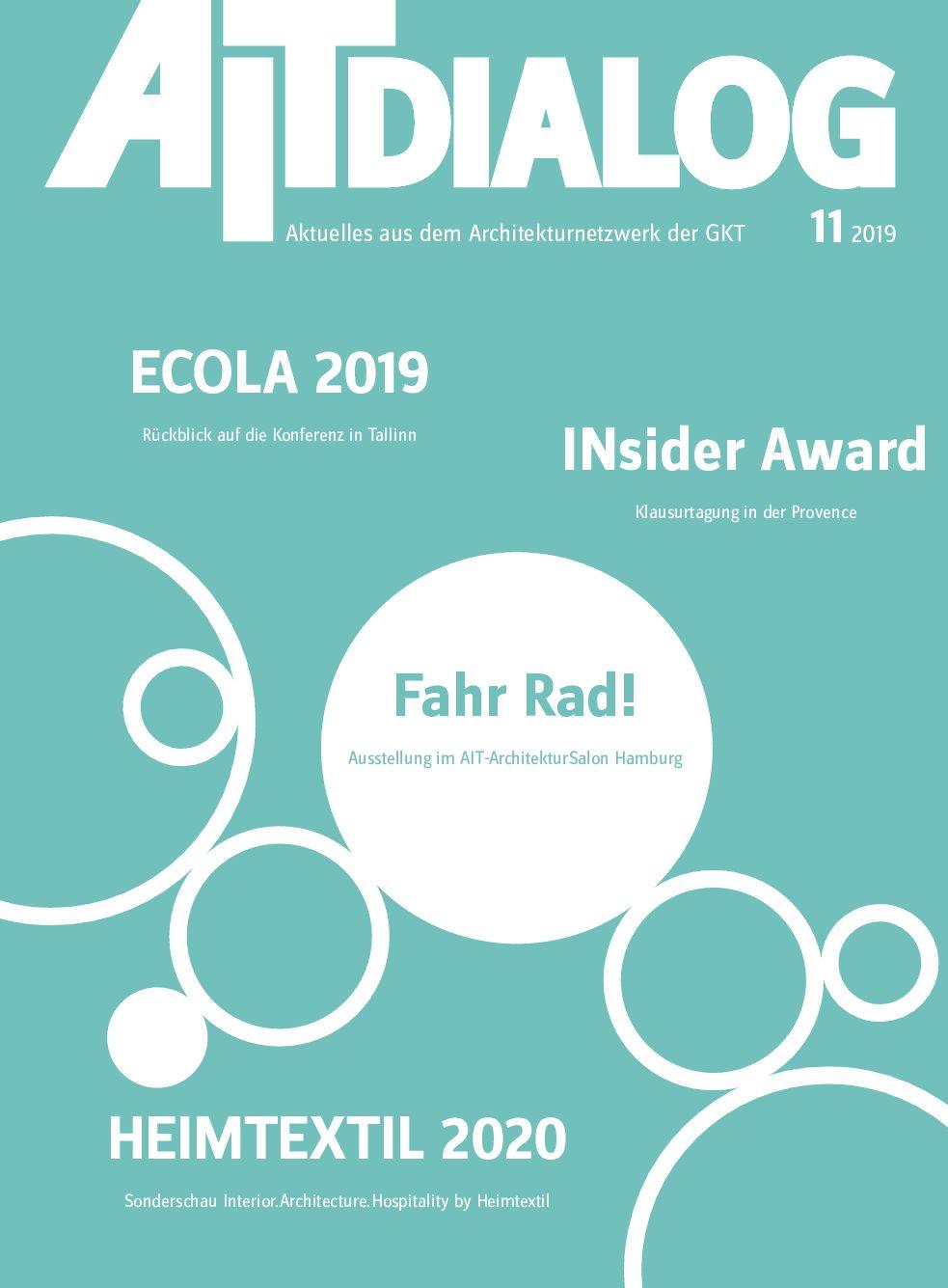AIT-Dialog Magazin 11/2019