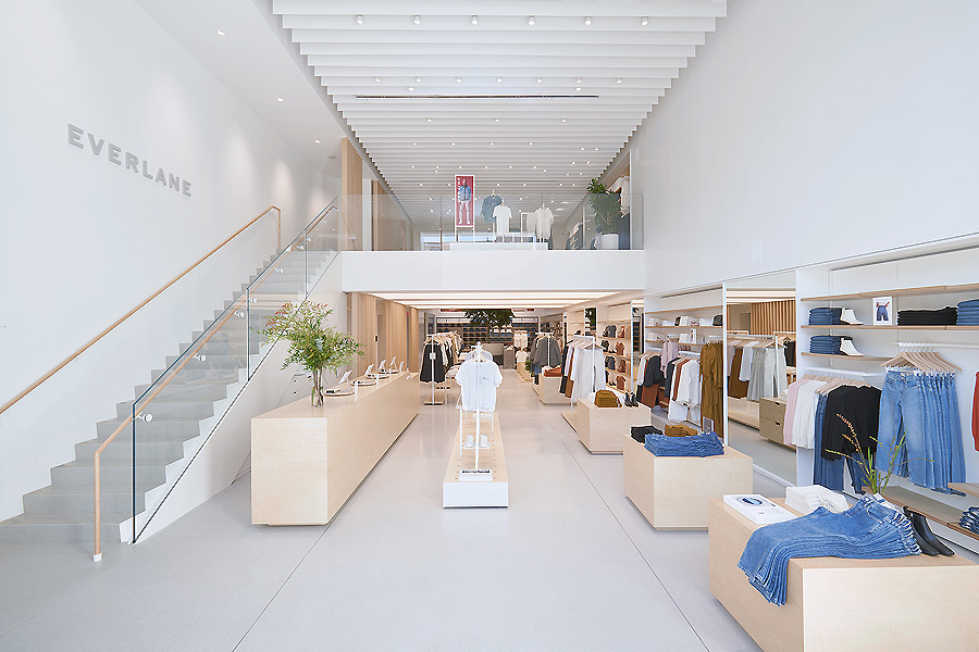 Everlane Store in New York von Bohlin Cywinski Jackson