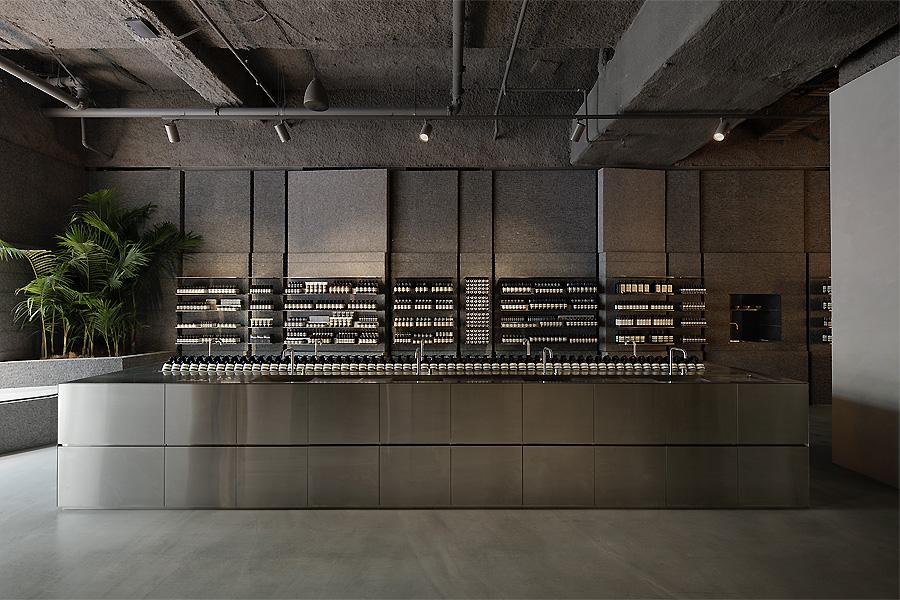 Aesop-Store in Sydney von Snøhetta