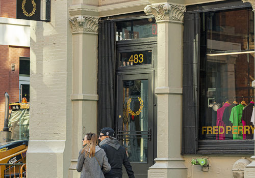 Fred Perry Store in New York 02