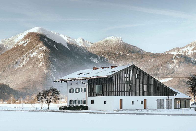 Umbau eines Bauernhauses in Marquartstein 01