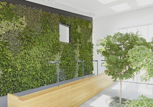 Neubau Büro-, Empfang in Wiesbaden 02