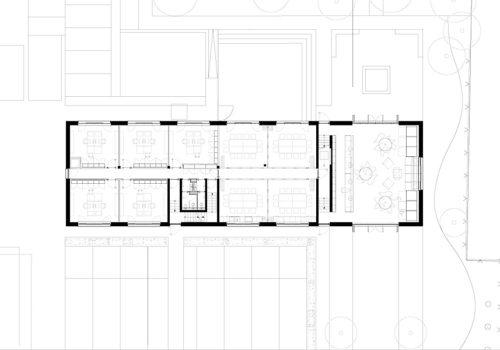 Neubau Büro-, Empfang in Wiesbaden 08