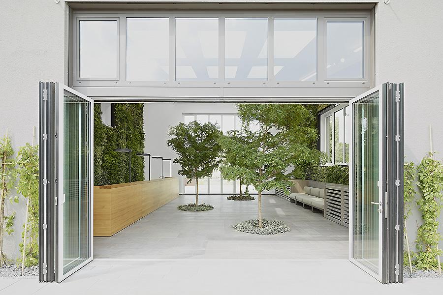 Gramenz Firmensitz in Wiesbaden von Christ.Christ. Associated Architects