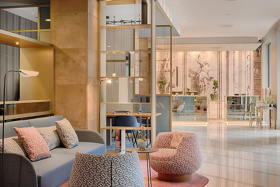 Hotel NH Milano in Mailand von CaberlonCaroppi Italian Touch Architects