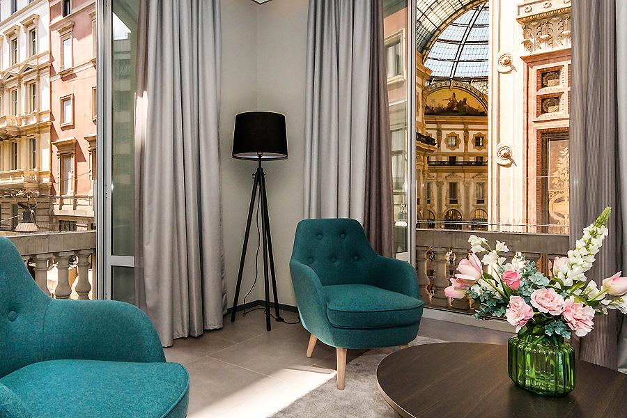 Hotel Altido Galleria in Mailand von Rinnow!