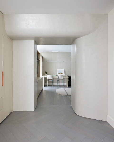 Apartment in New York von Frederick Tang Architecture 01