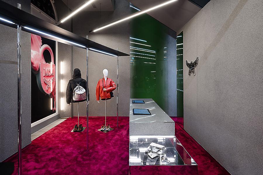 MCM Store in Wien von Gonzalez Haase